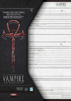 VtM- City Worksheet for the Independents [V20/4th Edition]