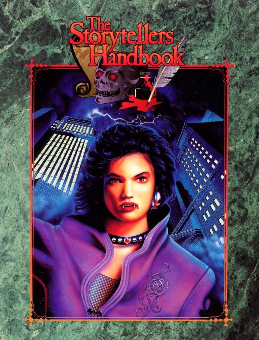 Storytellers Handbook (WW2222) - White Wolf | Vampire: The Masquerade 1st  Edition | DriveThruRPG com