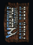 Werewolf Poker Deck: The Wild West