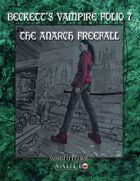 Beckett's Vampire Folio 7  The Anarch Freefall