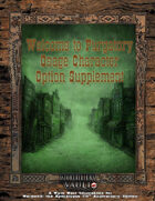 Welcome to Purgatory: Osage Character Option Supplement