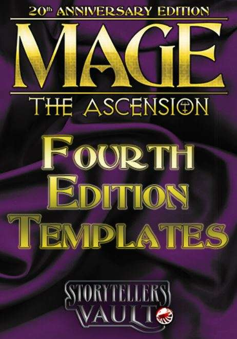 Mage The Ascension 4th Edition Templates White Wolf