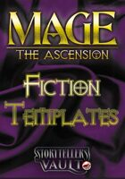 Mage: The Ascension Fiction Templates