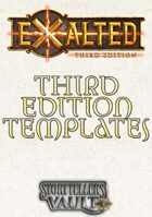 Exalted 3rd Edition Templates