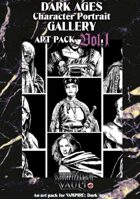 Dark Ages Character Portrait Gallery Vol. 1