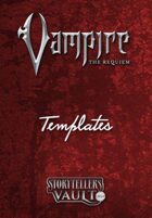 Vampire: The Requiem 2nd Edition Templates