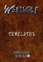 Werewolf: The Forsaken 2nd Edition Templates