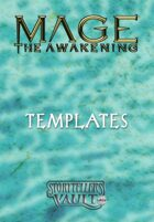 Mage: The Awakening 2nd Edition Templates