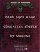 MrGone's Dark Ages Mage Character Sheets