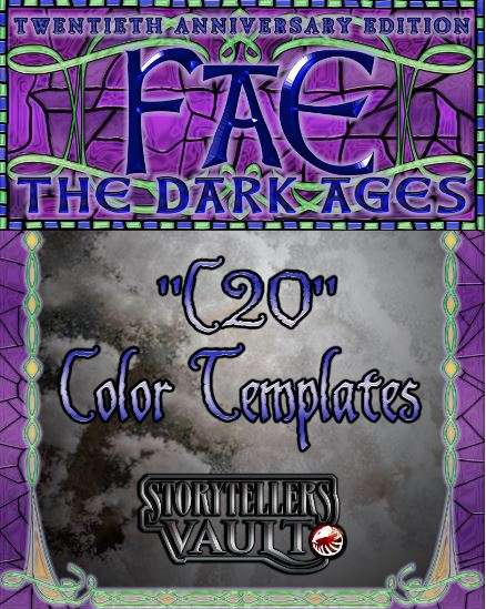 Fae: The Dark Ages Color Templates