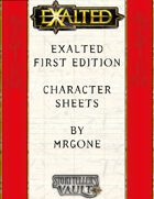 MrGone's Exalted First Edition Character Sheets