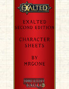 MrGone's Exalted Second Edition Character Sheets