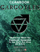 MrGone's Clanbook: Gargoyles Character Sheets