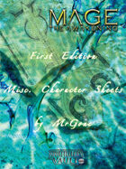 MrGone's Mage The Awakening First Edition Misc. Character Sheets