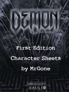 MrGone's Demon The Descent First Edition Character Sheets