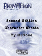 MrGone's Promethean The Created Second Edition Character Sheets