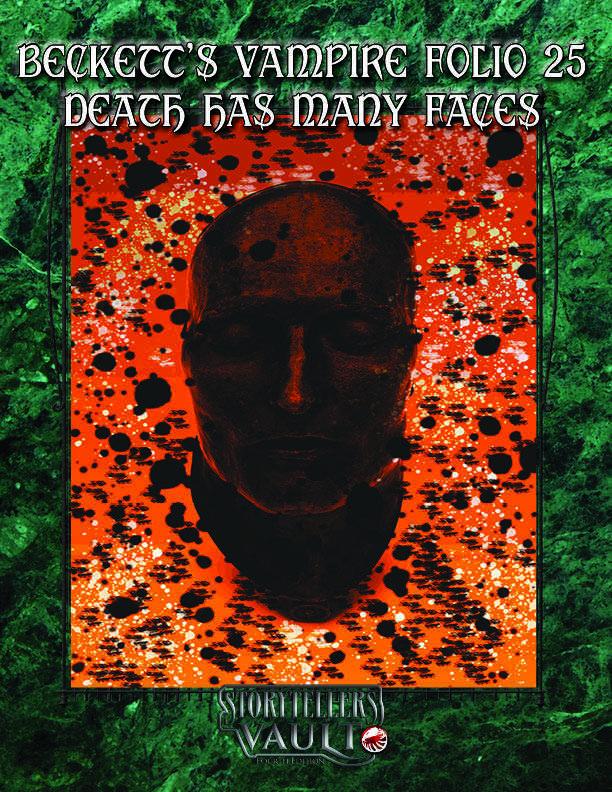 Beckett's Vampire Folio 25: Death Has Many Faces