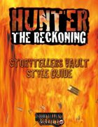 Hunter: The Reckoning Storytellers Vault Style Guide