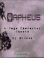 MrGone's Orpheus 4-Page Character Sheets