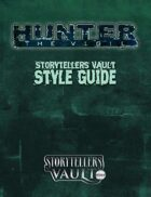 Hunter: The Vigil Storytellers Vault Style Guide