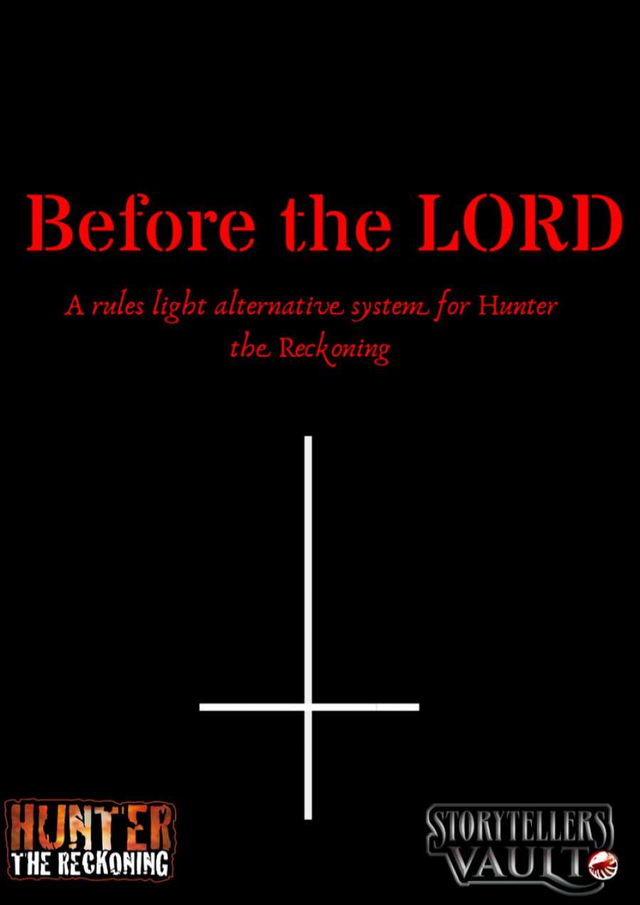 Before the LORD