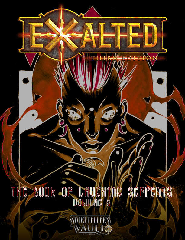 The Book of Laughing Serpents, Volume 5 - White Wolf | DriveThruRPG com