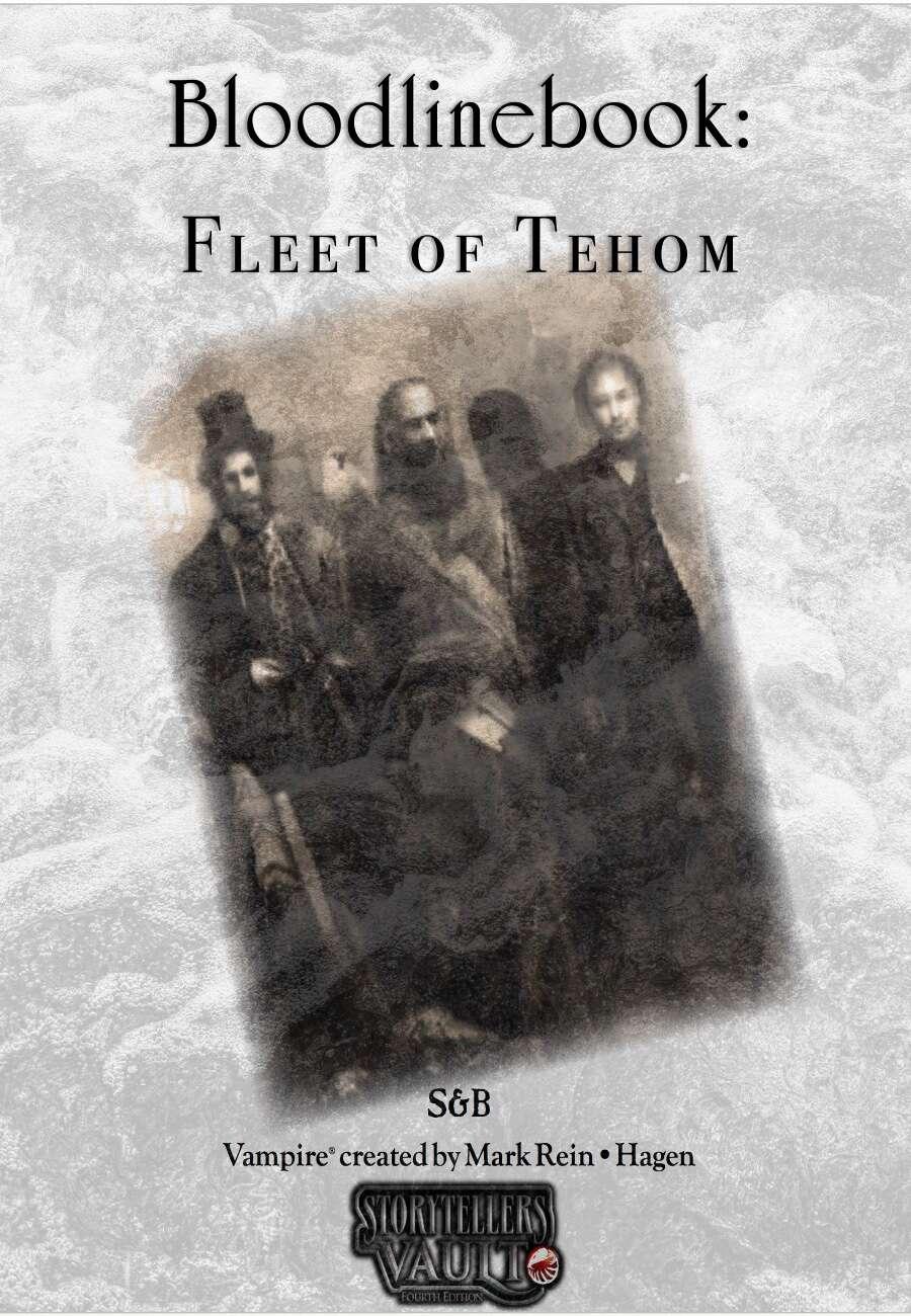 Bloodlinebook: Fleet of Tehom