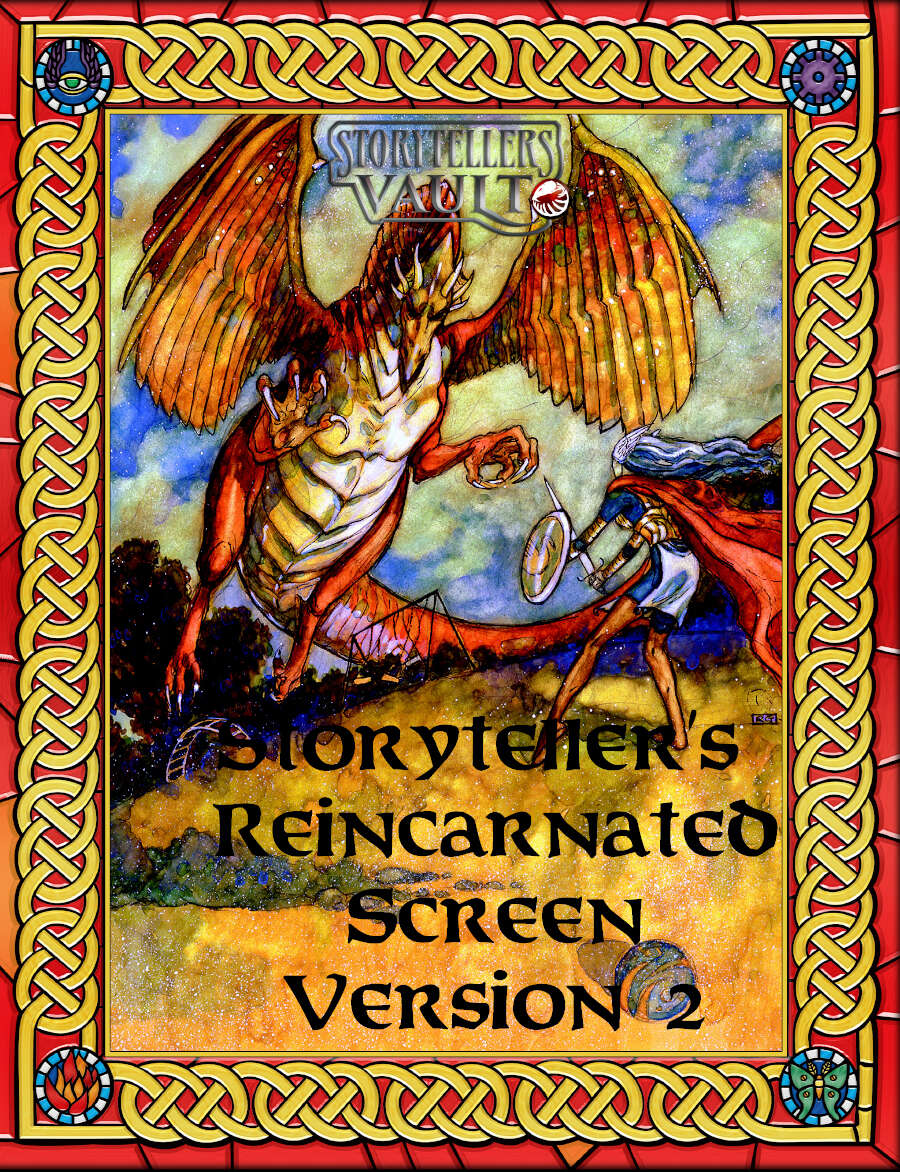 Changeling 20th Storyteller´s Screen Reincarnated VERSION 2