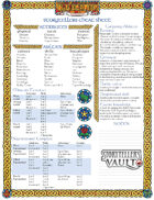 CHEAT SHEET Changeling: the Dreaming 20th Anniversary (Storyteller)