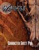 Werewolf: The Forsaken Character Sheet Pad
