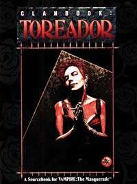 Clanbook: Toreador - 1st Edition (WW2056)