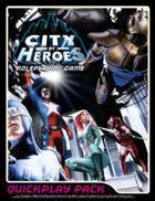 City of Heroes RPG Quickplay Pack