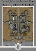 Virtual Tabletop Maps - Gothic Castle Map