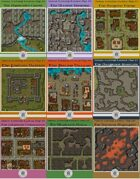 Virtual Tabletop Tactical Maps 1-10 [BUNDLE]