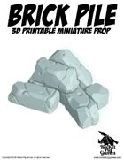 Rocket Pig Games: Dungeon Ruins Brick Pile