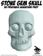 Rocket Pig Games: Stone Gem Skull