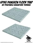 Rocket Pig Games: Tilescape™ DUNGEONS System SPIKE TRAP TILE SET