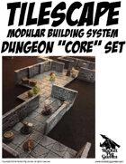 Rocket Pig Games: Tilescape™ Dungeons Modular Terrain Core Set