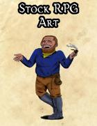 Stock Art - Dwarf Merchant