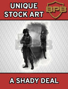 Unique Stock Art - A Shady Deal
