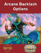 Arcane Backlash Options for Savage Worlds