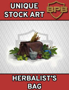 Unique Stock Art - Herbalist Bag