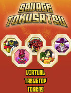 Savage Tokusatsu Tokens for Virtual Tabletops (Roll20, Fantasy Grounds)