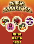 Savage Tokusatsu Tokens for Virtual Tabletops (Roll20, Fantasy Grounds)