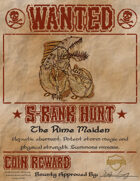 S Rank Hunts: The Rime Maiden (5e)