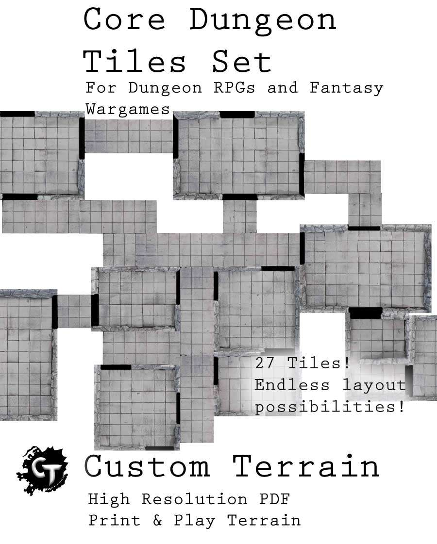 image regarding Printable Dungeon Tiles Pdf identified as Dungeon Tiles Pdf Quotations of the Working day