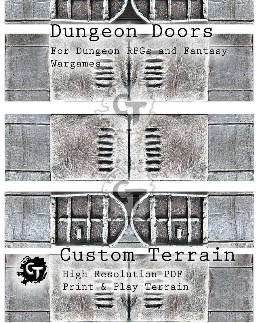 sc 1 st  DriveThruRPG & Dungeon Doors - Custom Terrain | DriveThruRPG.com