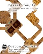 Desert Temple Dungeon Tiles Set