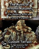 The Ruins of Arnsmil Campaign Aid + Autumn Game Mat