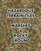 Hazardous Terrain Tiles - Marshes & Rocky Ground